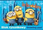 Blok rysunkowy A4 Minionki 20 kartek Le buddies w sklepie internetowym Booknet.net.pl