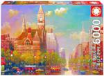 Puzzle Popołudnie w Nowym Yorku 6000 w sklepie internetowym Booknet.net.pl