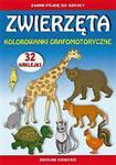 Zanim pójdę do szkoły. Zwierzęta. Kolorowanki grafomotoryczne + naklejki w sklepie internetowym Booknet.net.pl