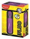 Zakreślacz fluo peps fioletowy pudełko w sklepie internetowym Booknet.net.pl