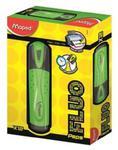 Zakreślacz Fluo peps zielony pudełko 12 sztuk w sklepie internetowym Booknet.net.pl