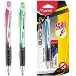 Ołówek automatyczny Blackpeps 0,5 mm + grafity w sklepie internetowym Booknet.net.pl