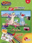 Puzzle maxi 120 Oggy i karaluchy w sklepie internetowym Booknet.net.pl