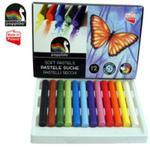 Pastele artystyczne suche 12 kolorów w sklepie internetowym Booknet.net.pl