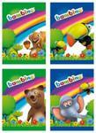 Zeszyt A5 Bambino w kratkę 16 kartek 15 sztuk mix w sklepie internetowym Booknet.net.pl