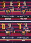 Zeszyt A5 w kratkę 60 kartek FC Barcelona 10 sztuk mix w sklepie internetowym Booknet.net.pl