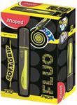 Zakreślacz Fluo Peps Max żółty 10 sztuk w sklepie internetowym Booknet.net.pl