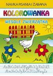 Kolorowanka Wesołe zwierzątka w sklepie internetowym Booknet.net.pl