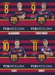 Zeszyt A5 FC Barcelona w trzy linie 16 kartek 20 sztuk mix w sklepie internetowym Booknet.net.pl