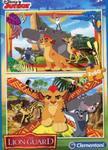 Puzzle Disney Junior Lwia Straż 2x60 w sklepie internetowym Booknet.net.pl
