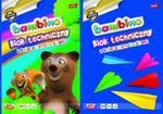 Blok techniczny A4 Bambino z kolorowymi kartkami 10 kartek 10 sztuk mix w sklepie internetowym Booknet.net.pl