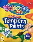 Farby Tempera w tubach z pędzelkiem 6 kolorów w sklepie internetowym Booknet.net.pl