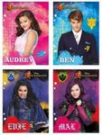 Wkład do segregatora A5 Disney Descendants 10 sztuk w sklepie internetowym Booknet.net.pl