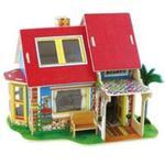 Puzzle 3D Drewniany dom z meblami w sklepie internetowym Booknet.net.pl