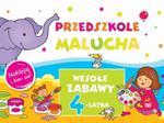 Przedszkole Malucha. Wesołe zabawy 4-latka. Naklejaj i baw się w sklepie internetowym Booknet.net.pl