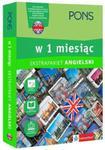 Angielski w 1 miesiąc z 3 tablicami językowymi i kursem online w sklepie internetowym Booknet.net.pl