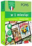 Francuski w 1 miesiąc z 3 tablicami językowymi i kursem online w sklepie internetowym Booknet.net.pl