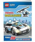 Lego City. Zadanie: naklejanie. LAS-14 w sklepie internetowym Booknet.net.pl