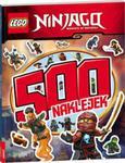 Lego Ninjago 500 naklejek w sklepie internetowym Booknet.net.pl