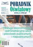 Obsługa ekonomiczno-administracyjna szkół i placówek publicznych i niepublicznych w sklepie internetowym Booknet.net.pl