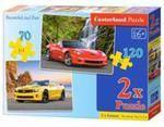Puzzle 2w1 Beautiful and Fast 70+120 w sklepie internetowym Booknet.net.pl
