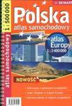 Polska 1:500 000 plus Europa atlas samochodowy w sklepie internetowym Booknet.net.pl