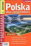 Polska 1:300 000 atlas samochodowy w sklepie internetowym Booknet.net.pl
