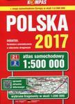 Atlas samochodowy Polski kompas 1:500 000/2017 w sklepie internetowym Booknet.net.pl