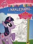 Kolorowanka z naklejkami My Little Pony w sklepie internetowym Booknet.net.pl