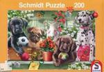 Puzzle Schmidt 200 Figlarne szczeniaki w sklepie internetowym Booknet.net.pl