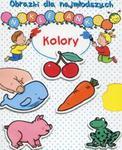 Obrazki dla najmłodszych Naklejanki Kolory w sklepie internetowym Booknet.net.pl
