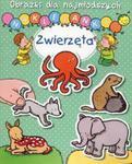 Obrazki dla najmłodszych Naklejanki Zwierzęta w sklepie internetowym Booknet.net.pl