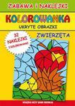 Kolorowanka Ukryte obrazki Zwierzęta w sklepie internetowym Booknet.net.pl