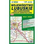 Mapa województwa lubuskiego - Administracyjno-Samochodowa 1:200 000 w sklepie internetowym Booknet.net.pl