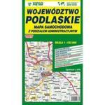 Mapa województwa podlaskiego - administracyjno-samochodowa 1:183 000 w sklepie internetowym Booknet.net.pl