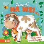 Książka z szablonem Zwierzęta na wsi w sklepie internetowym Booknet.net.pl