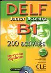 DELF Junior Scolaire B1 książka+klucz+transkrypcja+CD audio w sklepie internetowym Booknet.net.pl