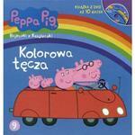 Świnka Peppa. Kolorowa tęcza. Bajeczki z książeczki + DVD w sklepie internetowym Booknet.net.pl