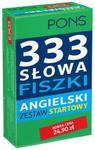 333 Słowa Fiszki Angielski Zestaw startowy w sklepie internetowym Booknet.net.pl