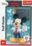 Puzzle 54 Mini Myszka Miki i Przyjaciele Miki chemik w sklepie internetowym Booknet.net.pl