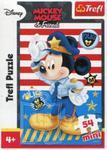 Puzzle 54 Mini Myszka Miki i Przyjaciele Miki policjant w sklepie internetowym Booknet.net.pl