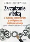 Zarządzanie wiedzą a przewaga konkurencyjna przedsiębiorstwa międzynarodowego w sklepie internetowym Booknet.net.pl