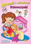 Malowanki z nalepkami - Dziewczynki - Zuzia w sklepie internetowym Booknet.net.pl