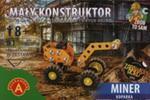 Mały Konstruktor Miner koparka w sklepie internetowym Booknet.net.pl