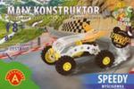 Mały konstruktor Speedy wyścigówka 81 elementów w sklepie internetowym Booknet.net.pl