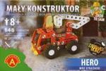 Mały konstruktor Hero Wóz strażacki 148 elementów w sklepie internetowym Booknet.net.pl