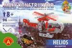 Mały konstruktor Helios helikopter 96 elementów w sklepie internetowym Booknet.net.pl