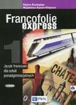 FRANCOFOLIE EXPRESS 1 Język francuski Podręcznik z płytą CD edycja 2017 w sklepie internetowym Booknet.net.pl