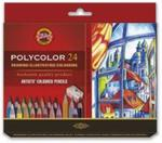 Kredki artystyczne Polycolor 24 kolory w sklepie internetowym Booknet.net.pl