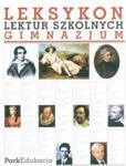 Leksykon lektur szkolnych. Gimnazjum w sklepie internetowym Booknet.net.pl